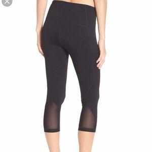 "Zella ""Hatha"" high waist cropped leggings"